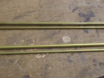 Brass solid bar