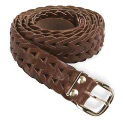 leather weaver belt