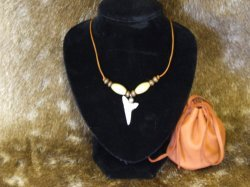 Large Sharks Tooth Necklace