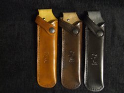 Leather Rifle Bolt Holder (Carrier) PLAIN