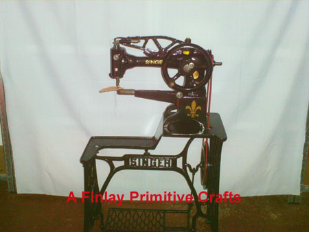 leather singer sewing machines