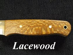01 tool steel bushcraft knife lacewood