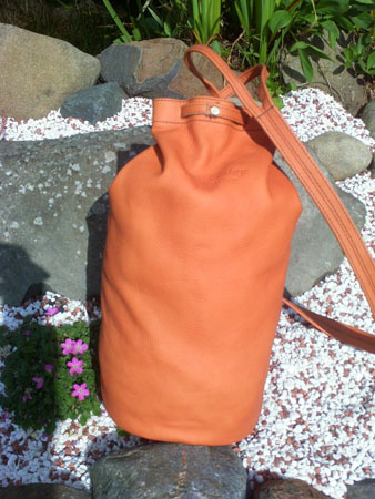leather duffle bag daysack