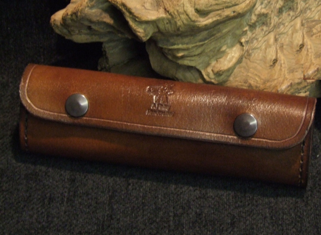 A Finlay Hook Knife Leather Sheath